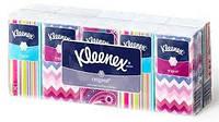 Kleenex.Носовые платочки Originals, белые, 10*10 (905192)