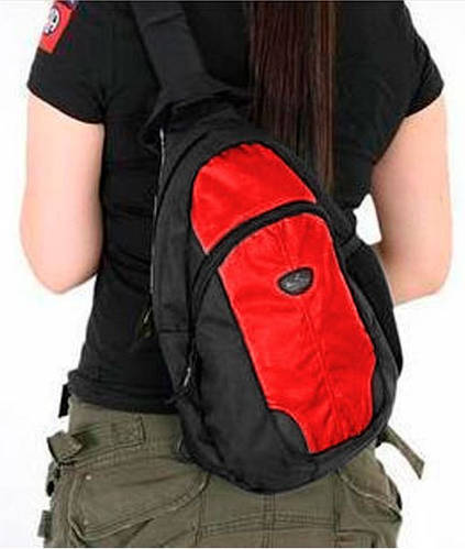 Однолямочный рюкзак для подростков 16 л. Onepolar W1292-red
