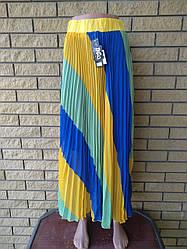 Юбка-сарафан летняя шифоновая длинная,  в пол  TATU