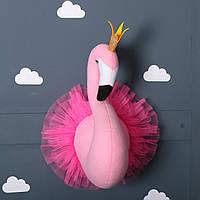 Декор голова Фламинго на стену