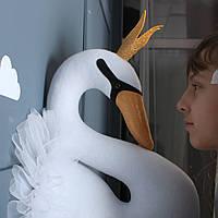 Декор на стену Лебедь белая