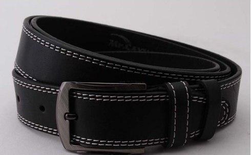 Ремень кожаный мужской для брюк
