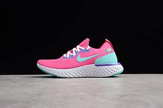 Кросівки жіночі Nike Epic React Flyknit / ERF-019 (Репліка)