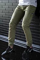 Штаны карго мужские BEZET Zipp khaki