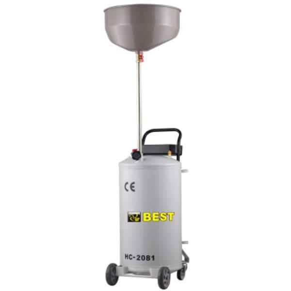 Установка для слива отработанного масла 80л. BEST HC-2081