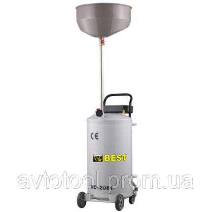 Установка для слива отработанного масла 80л. BEST HC-2081, фото 2