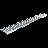Решетка дренажного канала стальная  126х1000х20