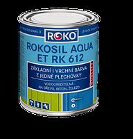 Грунт-эмаль ROKOSIL AQUA RK 612   3,8 кг