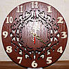 Часы подарочные из натурального шпона