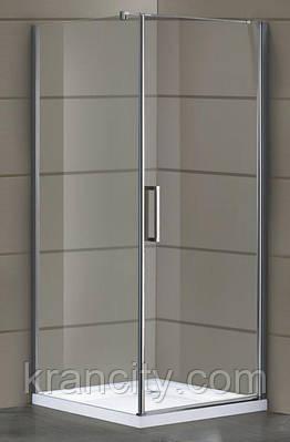 Душевая кабина Eger Rudas (599-001/1R) 90*90*200 см, квадратная,правая,распашная,Венгрия