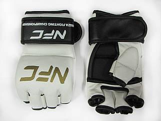Перчатки для боев без правил М2 c защитой пальца Lev Sport (кожа)
