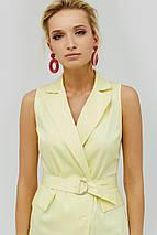 Женское летнее платье на запах из коттон-сатина (Folin crd), фото 3