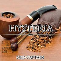 Жидкость Hysteria Old Captain с табачным вкусом олд кэптан для  электронных сигарет 30 и 100 мл