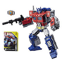 Трансформер 4в1 Оптимус Прайм 23см - Optimus Prime+Orion, Power of the Primes, Leader Class, Hasbro (E1147)