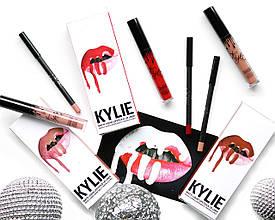 Косметический набор Kylie 2 в 1 (матовая помада + карандаш для губ)