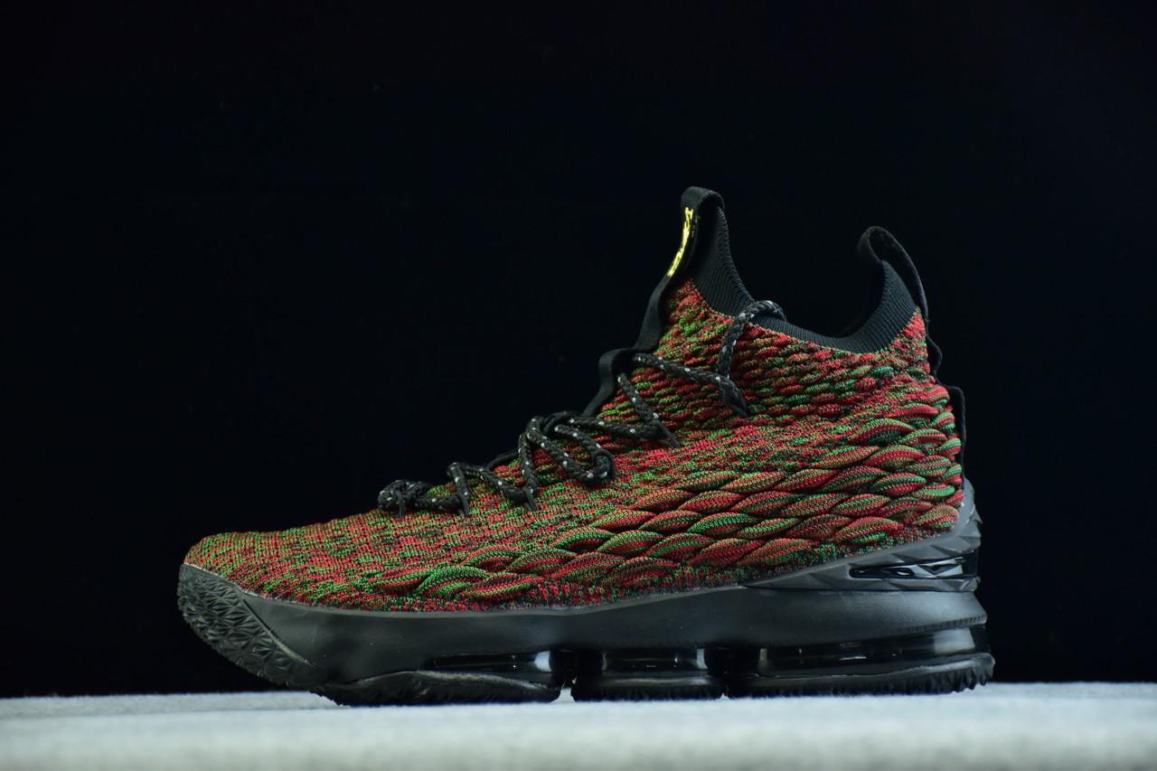 a99cabe1 Купить Кроссовки мужские Nike Lebron 15 / LBM-182 (реплика) в ...