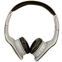 Беспроводные Bluetooth наушники NK-898, mp3  + ПОДАРОК: Наушники для Apple iPhone 5 -- БЕЛЫЕ MDR IP