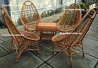 Плетеная мебель из натуральной лозы, фото 1
