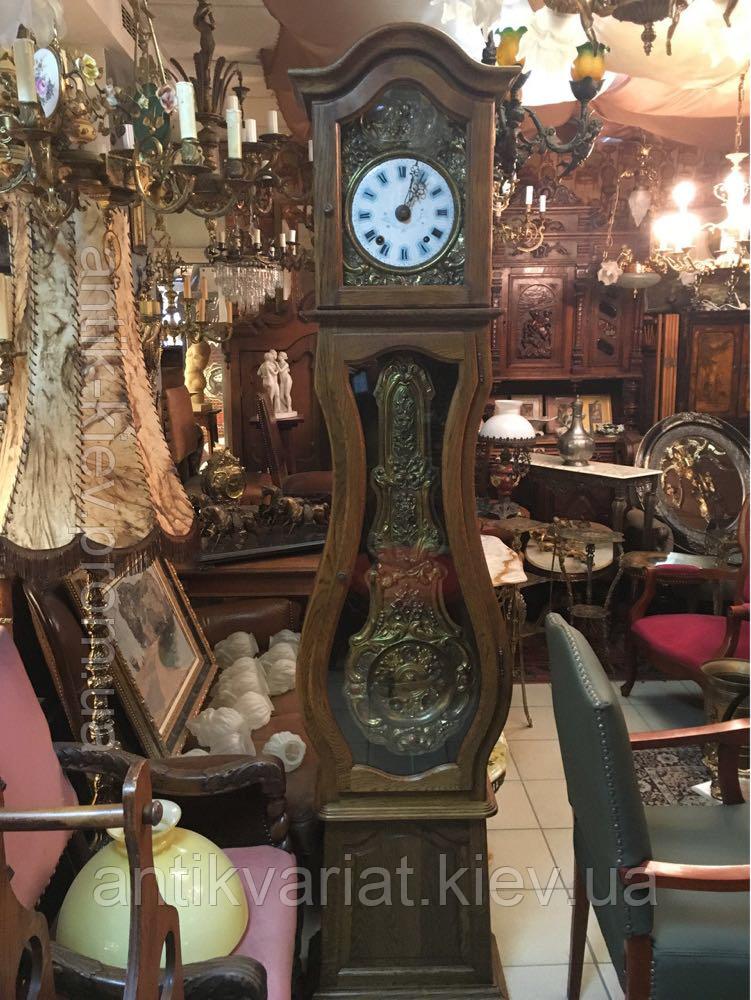 7289cbef Антикварные напольные часы из дерева и бронзы часы годинник часы настенные  часы - АнтиквариатЪ салон-