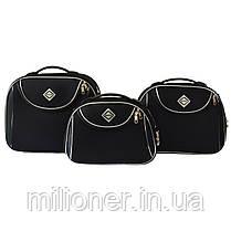 Сумка кейс саквояж Bonro Style (большой) черный, фото 2