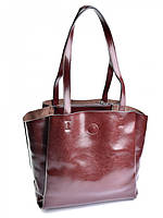 Женская сумка из кожи 810HK кофейная