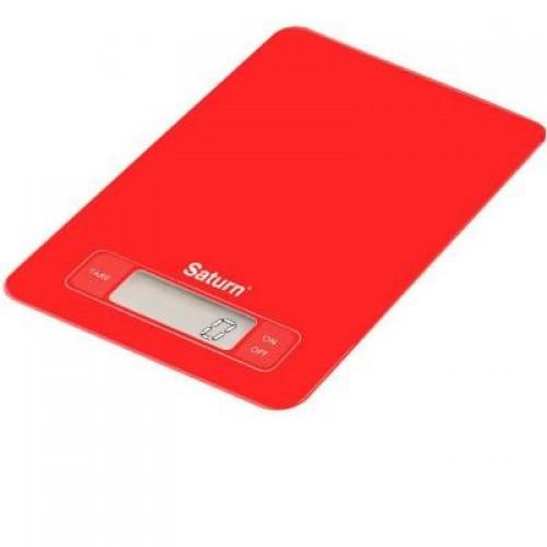 Кухонные электронные весы Saturn ST-KS7235 Red