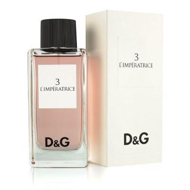 Описание Женская туалетная вода Dolce  Gabbana 3 L Imperatrice 100 ml 1f1ba79e2b3d0