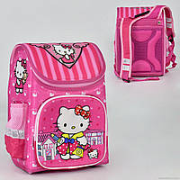 """Рюкзак школьный """"Hello Kitty"""" 2 кармана, спинка ортопедическая, ножки пластиковые N 00173"""