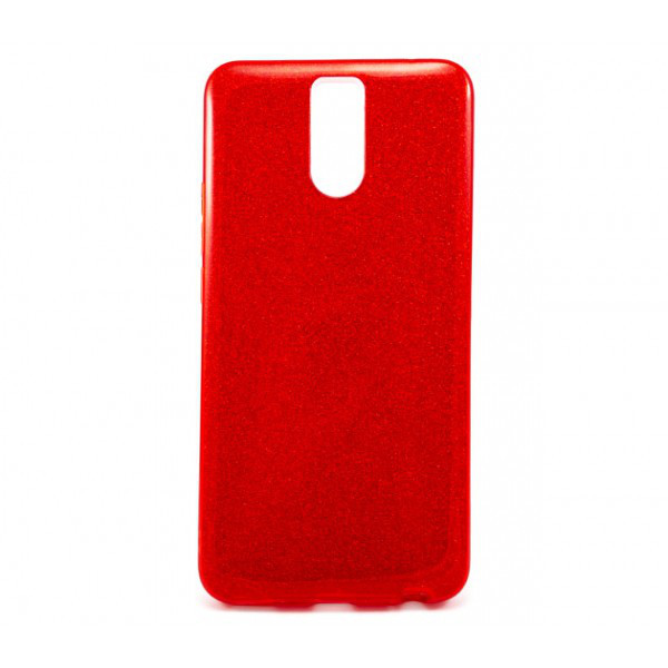 Силиконовый чехол накладка Fashion Case Glitter 3 in 1 для Meizu M6 Note
