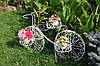 Підставка для квітів Прованс Велосипед 2