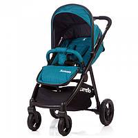 Детская прогулочная коляска CARRELLO Sonata бирюзовая