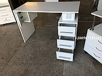 Маникюрный стол с розетками, стационарный,  Модель V230 белый, фото 1