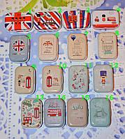 "Коробочка жестяная для мелочей ""Лондон"" (6*4*2,5 см)"