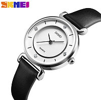 Красивые женские часы, Skmei Batterfly 1330 (Silver) / Гарантия