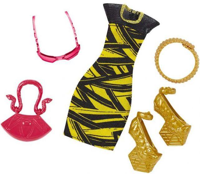 Набір одягу для ляльки Monster High Cleo de Nile - Сукня з аксесуарами DVF09
