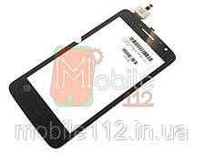 Тачскрин (сенсор) для Prestigio PAP3501 DUO MultiPhone, чёрный