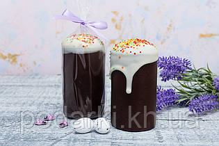 Кулич пасхальный шоколадный