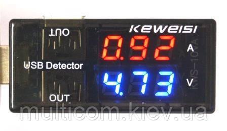 17-06-066. Тестер USB c индикацией V+A