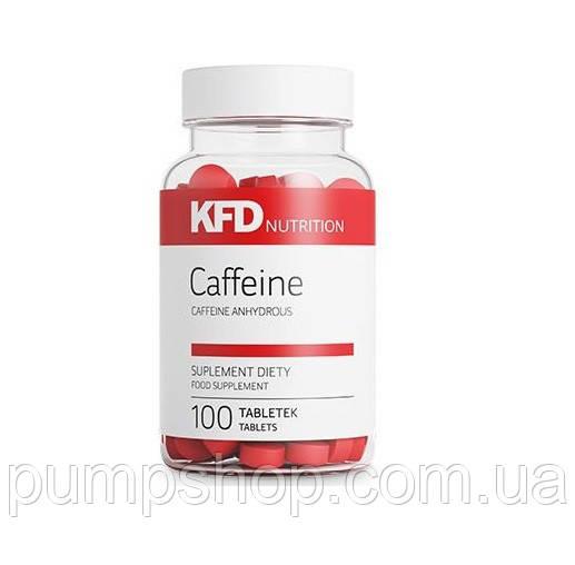 Кофеин KFD Nutrition Caffeine 100 таб. (200 мг)