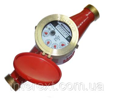 Счётчик горячей воды многоструйный Gross MTW-UA Ду 25, фото 2