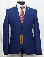 Молодёжный приталенный пиджак для юноши Victor Enzo 5011