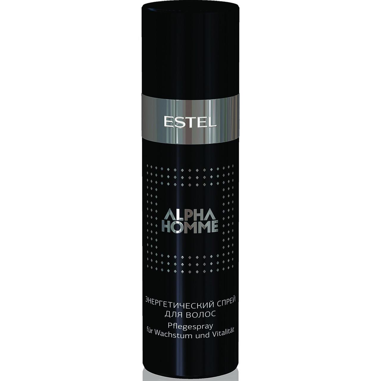 ALPHA HOMME - энергетический спрей для волос