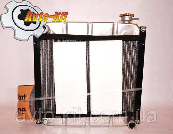 Радиатор алюминиевый Jac 1020 (Джак 1020) 44х43х8,5, фото 2