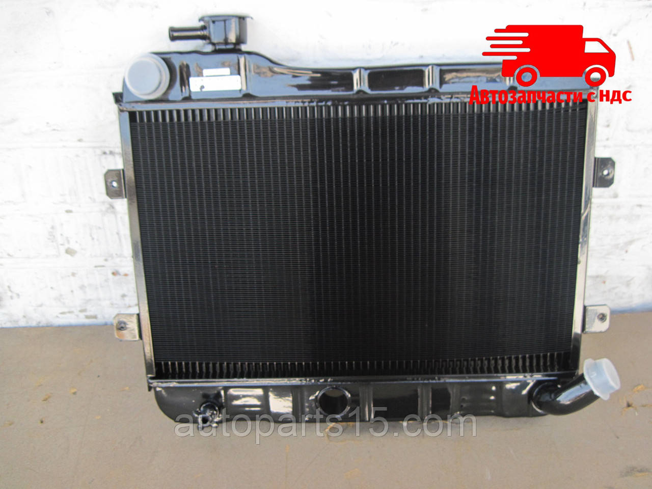 Радиатор ВАЗ 2101, 2102 (2-х рядный медно-латунный) (пр-во г.Оренбург). Ціна з ПДВ