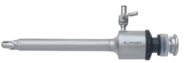 Безпечний троакар з силіконовим клапаном, 10х95 мм