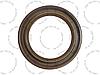 Сальник 332-1121066-10 32х45х7 ТНВД Камаз ЄВРО, фото 2