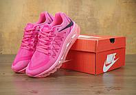 Кроссовки женские Nike Air Max 2017 реплика ААА+ размер 38 розовый (живые фото)