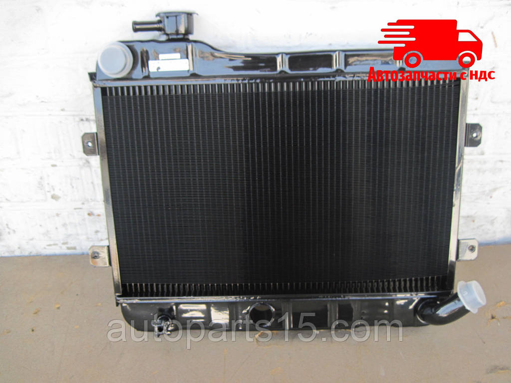 Радиатор водяного охлаждения ВАЗ 2101,02 (2-х рядн.) (пр-во г.Оренбург). 2101-1301.012-90. Цена с НДС.