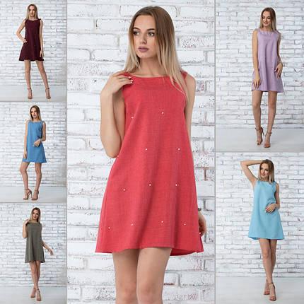 """Платье летнее """"Грейс"""" - 6 цветов, фото 2"""