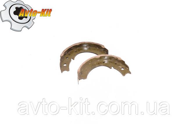 Колодка тормозная стояночного тормоза (2 шт) Foton 1043 Фотон 1043 (3,7 л), фото 2